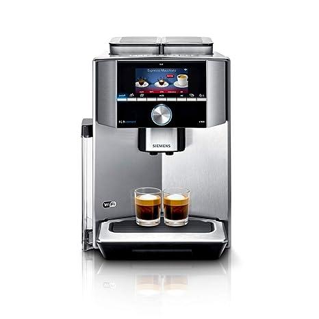 Siemens TI909701HC - Cafetera (Independiente, Máquina espresso, Granos de café, Molinillo integrado