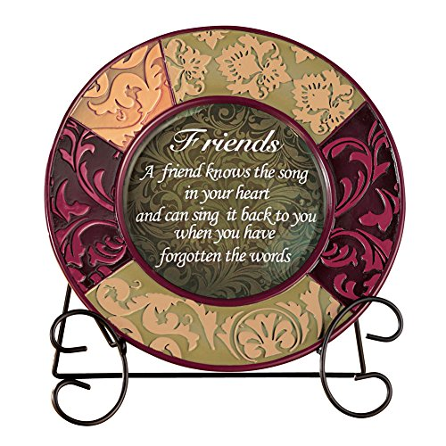 Decorative Inspirational Plate with Display Stand Friend  sc 1 st  Amazon.com & Christmas Decorative Plates: Amazon.com