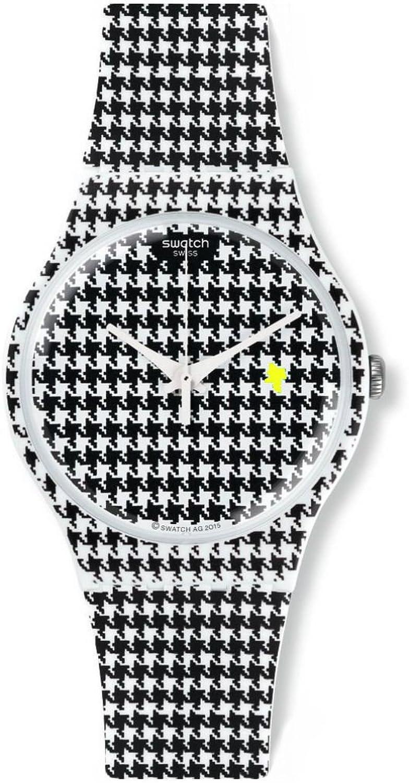 [スウォッチ]SWATCH 腕時計 New Gent(ニュージェント) CHICKEN RUN SUOW138 メンズ 【正規輸入品】 B01HSEJCZE