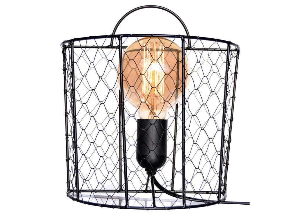 Aplique de pared de malla jaula de gallina, color negro: Amazon.es ...