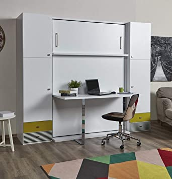 Zata Home Happy Table Lit D Appoint Vertical Blanc 140 X 190 Cm