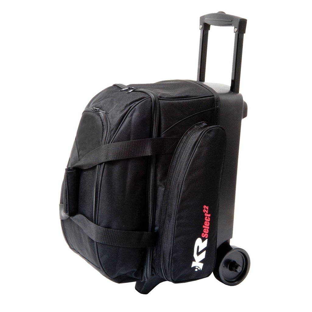 KR Select Double Roller Bowling Bag- Black Sporting Goods ...
