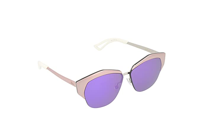 451b4e5e9fe0 Image Unavailable. Image not available for. Colour  Christian Dior DIOR  MIRRORED I24TE Pink Silver   Violet Sunglasses
