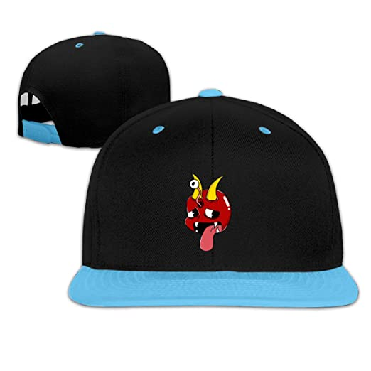 8afea38081978 Image Unavailable. Image not available for. Color  Naughty Demon Baby Hip  Hop Baseball Caps ...