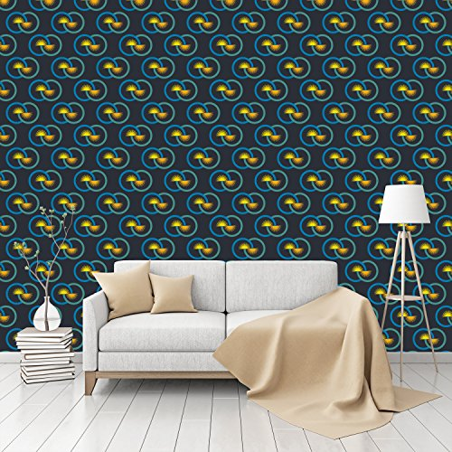 infinity-patterned-peel-stick-textured-wallpaper-by-customwallpapercom