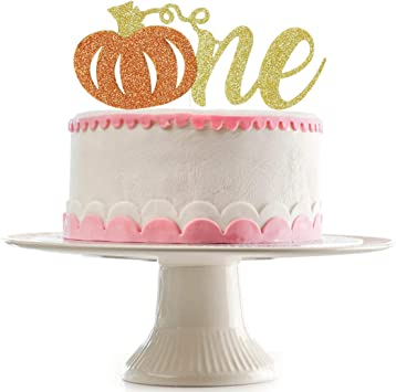 Amazon.com: Decoración para tarta con purpurina de calabaza ...