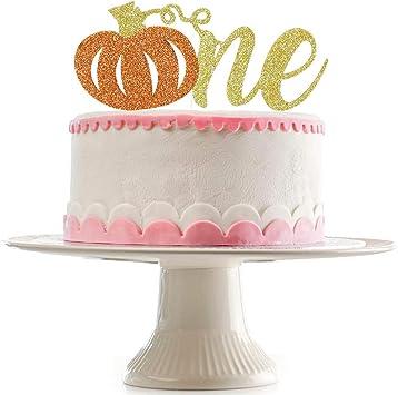 Amazon.com: Decoración para tarta con purpurina de calabaza ...