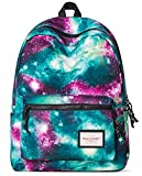 Forestfish Durable Casual Flowered Backpack Daypack Laptop Backpack School Bag for Teen Girls