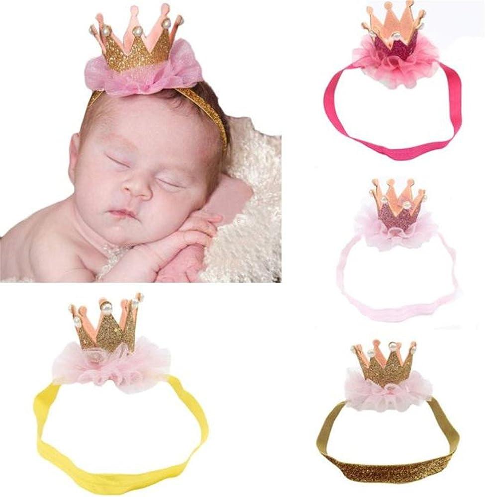 Diademas Bebe Niña, FELZ Lindo Diademas Bebé Niña Princesa ...