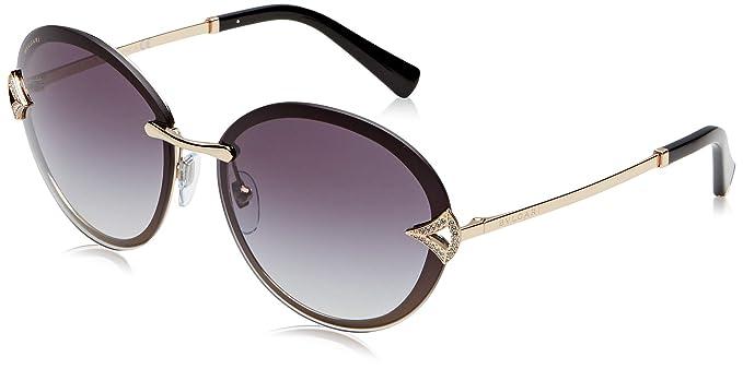 Bulgari 0BV6101B 20148G 61 Gafas de Sol, Dorado (Pink Gold ...