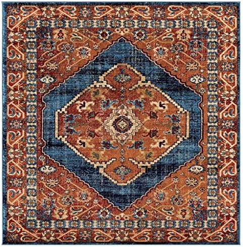 Luxe Weavers Howell Collection Red Oriental 8×10 Area Rug