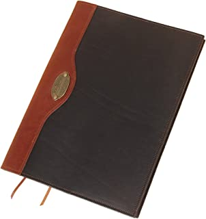 product image for Col. Littleton No. 30 Leather Composition Notebook | Refillable | Black/Brown