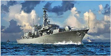 Amazon | トランペッター 1/700 イギリス海軍 23型フリゲート HMS ...