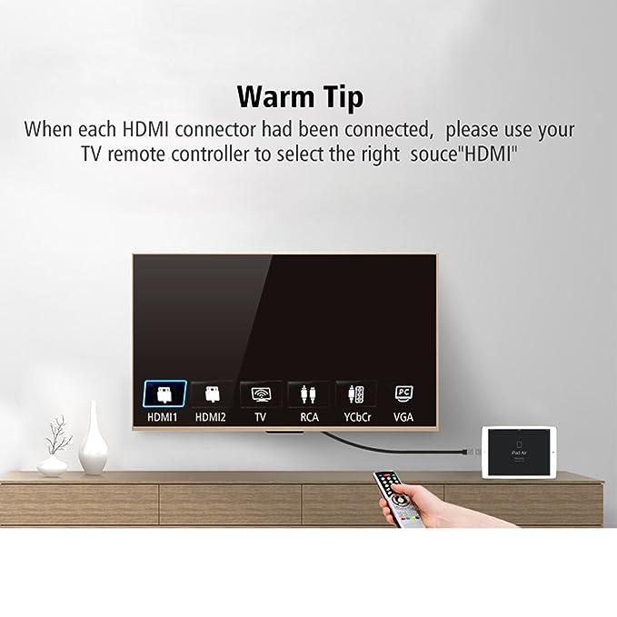 Amazon.com: Micro cable HDMI, Alta Velocidad, función de ...