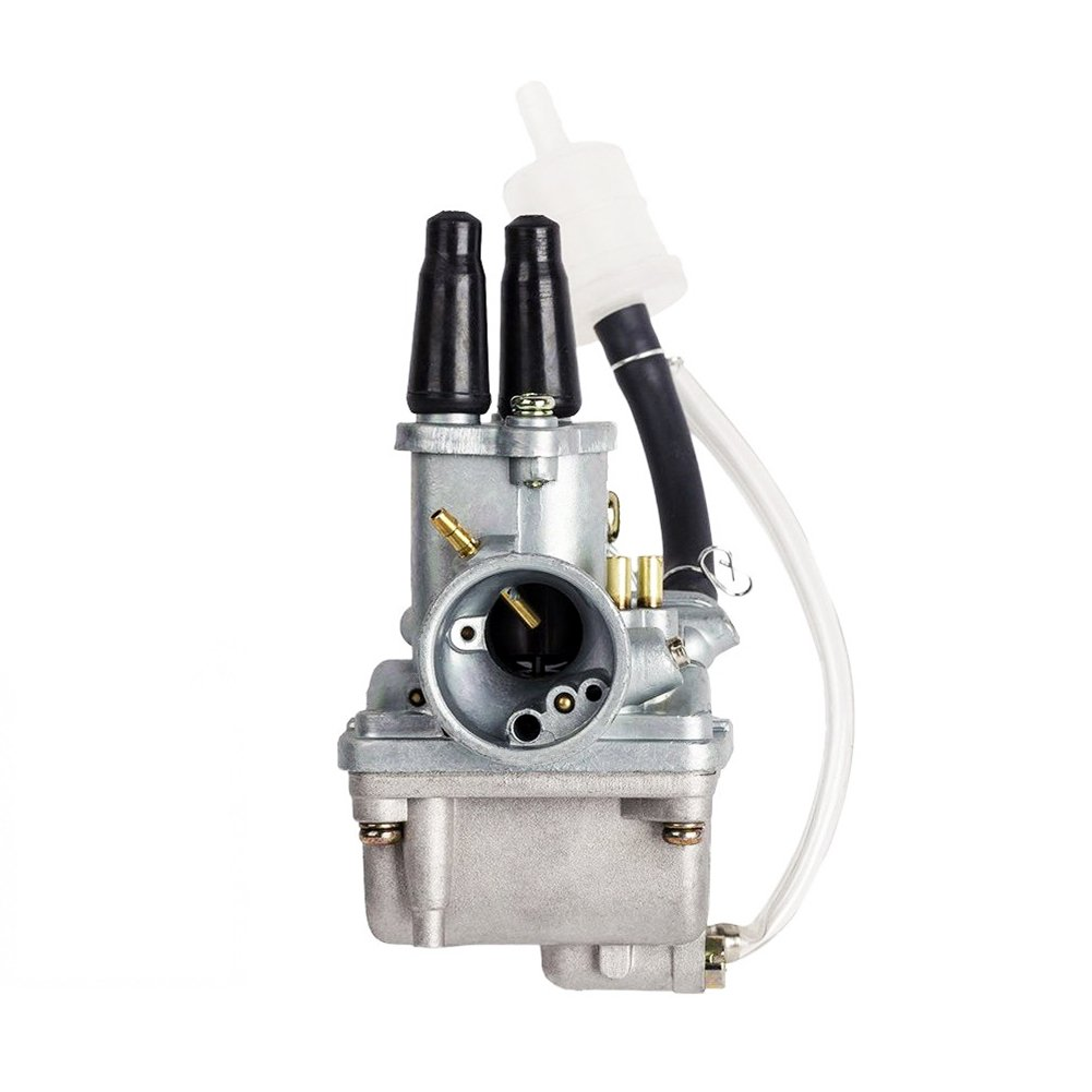 QAZAKY Carburetor for Yamaha PW 80 PW80 Y-Zinger Yzinger 1983-2006 Dirt Bike Carb with Gas Filter