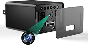No WiFi Security Camera – Night Vision Charger Camera – 1080P Motion Activated Camera – Plug and Play Design – 128GB Storage Capacity – Wide Viewing Angle – Compact Design