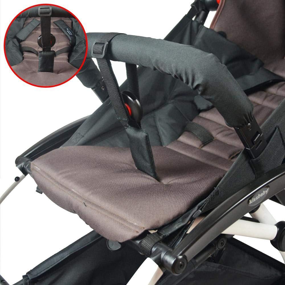 feiledi Trade 2 Pack Pushchair Pram Safety Wrist Strap with Extension Strap for Universal Fit Pushchair//Buggy//Pram Hooks for Shopping Bags Handbags Diaper Bag