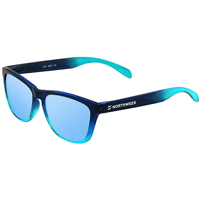¡ NEW 2017! GAFAS DE SOL NORTHWEEK - GRADIANT BRIGHT BLUE - ICE BLUE POLARIZED - UNISEX