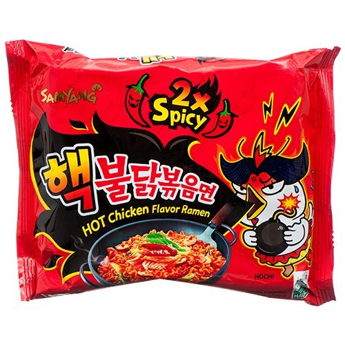 Samyang Bulldark Spicy Chicken Roasted Noodles, 4.93 Oz
