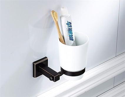 RY Bathroom GKRY@Vaso de Pared para Cepillo-Moderno Vaso de Pared para -