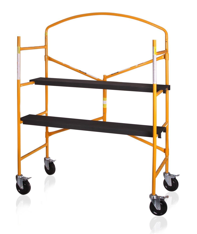 É chafaudage, plate-forme de travail, É chafaudage mobile en acier Échafaudage mobile en acier Otger Lensker