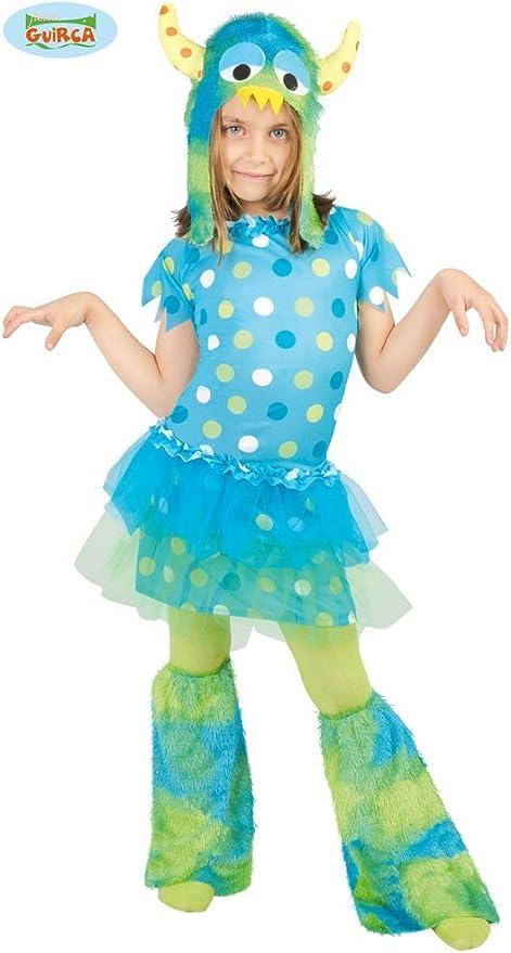 Disfraz de monstruita para niña - 7-9 años: Amazon.es: Juguetes y ...