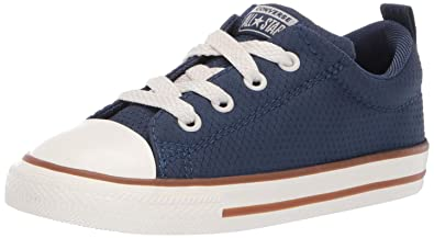Converse Chuck Taylor All Star Street Pinstripe Toddler Low Top Navy 763525C
