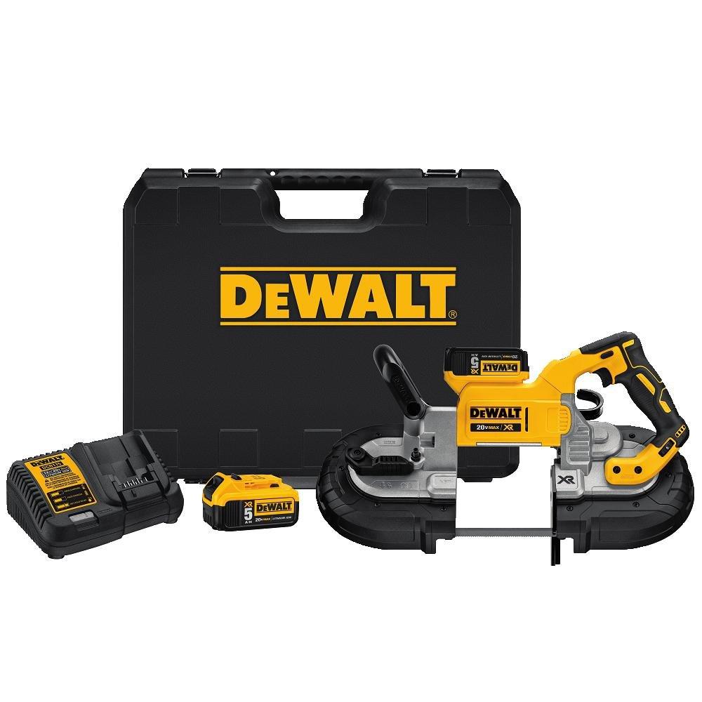 DEWALT DCS374P2 20V Max Deep Cut Band Saw Kit by DEWALT (Image #1)