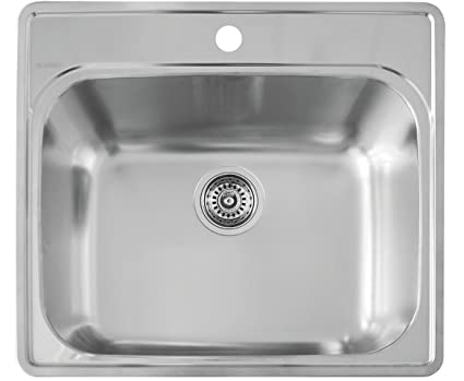 Charmant Blanco 441078 Essential Laundry Sink, Stainless Steel