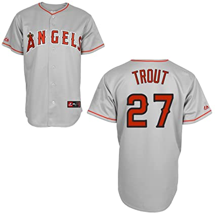 b4d0854460c Amazon.com   Mike Trout Jersey  Los Angeles Angels of Anaheim Adult ...