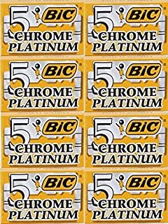 5 cuchillas de afeitar BIC Chrome Platinum (1 paquete)  Amazon.es ... b4d8a33fb326