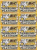 platinum chrome blades - 40 Bic Chrome Platinum Double Edge Razor Blades