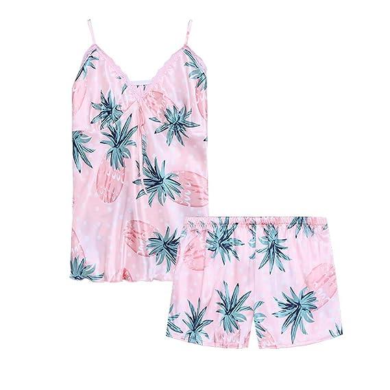 prix bas design intemporel check-out Feifish Pyjama été Femme Pyjama Short Femme Pas Cher ...