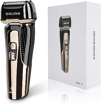 MooSOO M afeitadora eléctrica para hombre con cortador automático ...