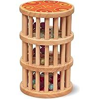 B. toys by Battat- B. A-Maze Rain Rush juegete de destreza – Juego de Lluvia niños – Madera natural-18+ Meses (Branford…