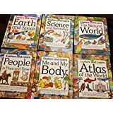 Explore and Learn, 6 Volume Set: Earth and Space, Science and Technology, The Natural World, People In Place and Time, Me and My Body, Atlas of The World (1-6)