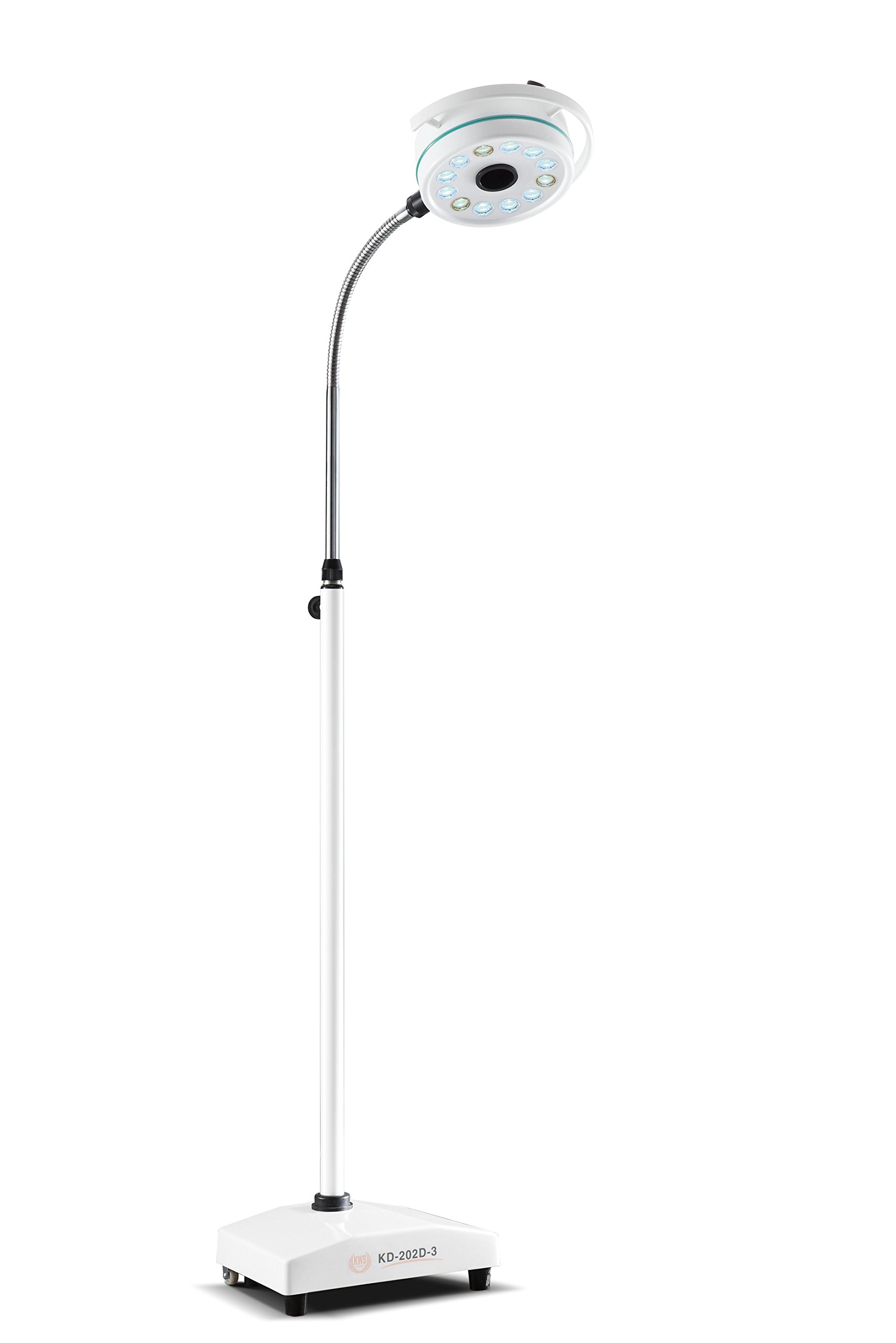 Portable Mobile LED Surgical Medical Exam Light Shadowless Lamp KD-202D-3 by Zgood (Image #1)