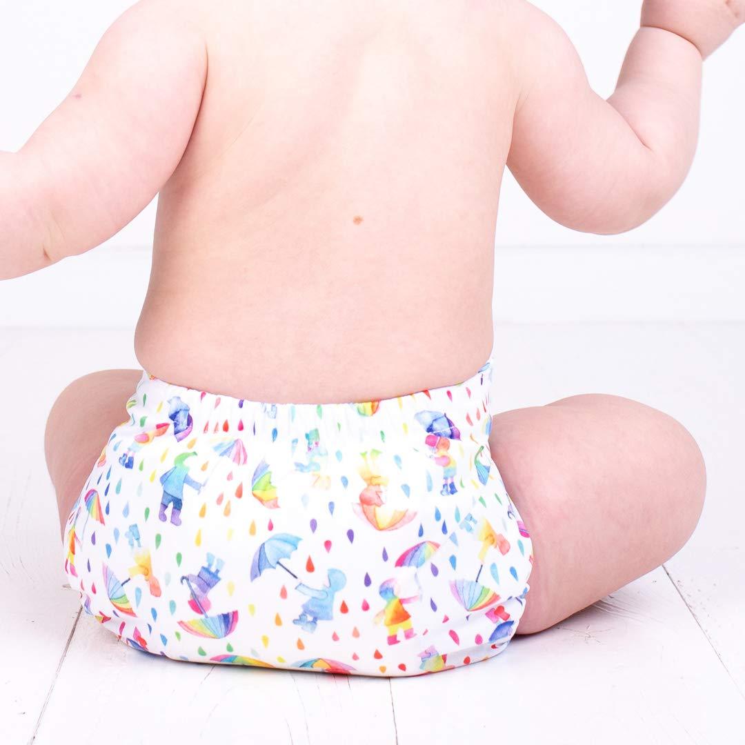 TotsBots EasyFit Star Wiederverwendbare Windel f/ür Neugeborene bis zum T/öpfchen-Training wiederverwendbar Einheitsgr/ö/ße einfach zu waschen