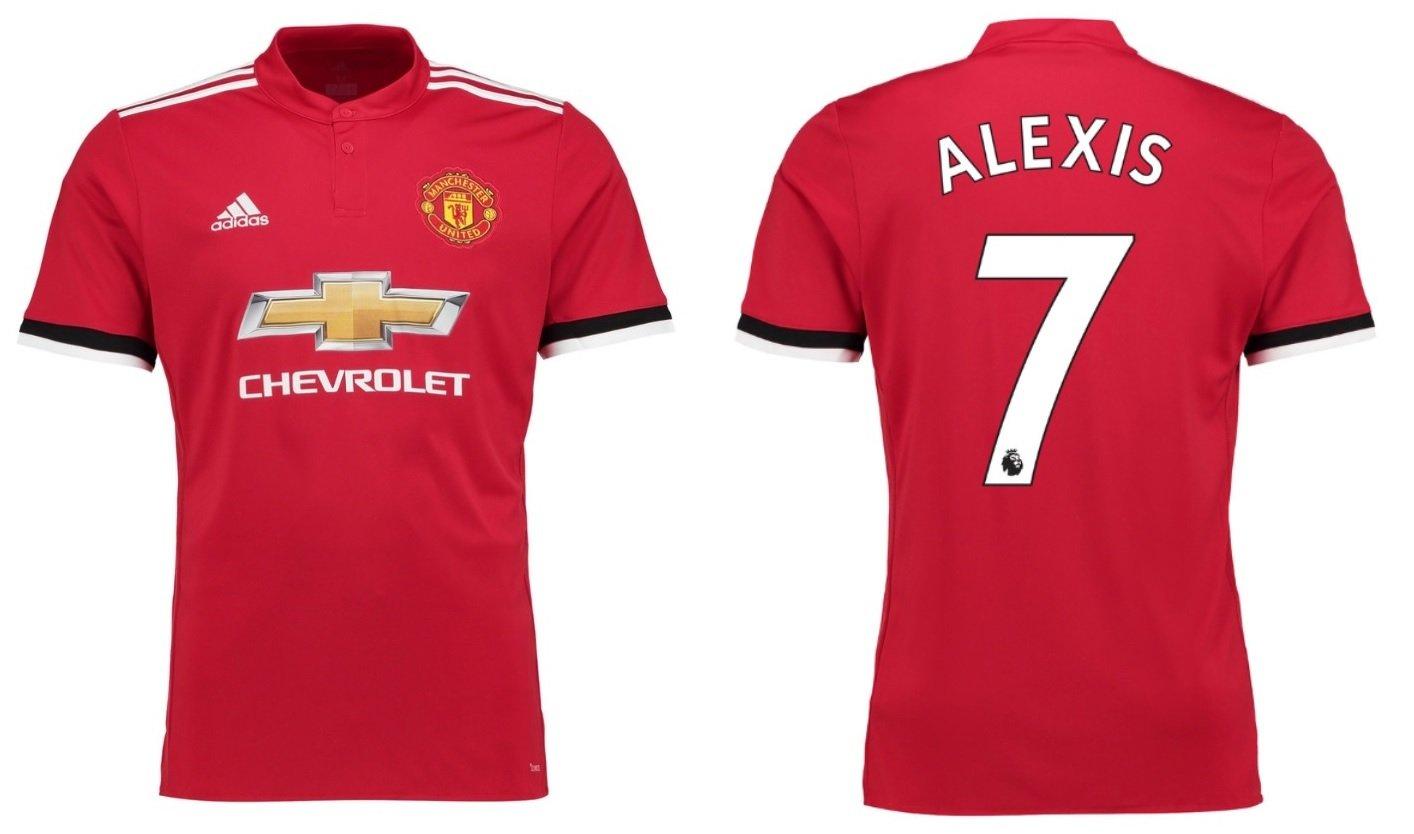 Trikot Kinder Manchester United 2017-2018 Home - Alexis 7