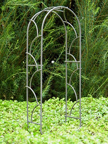 Miniature Dollhouse Fairy Garden Furniture Rustic Iron Arch (Arch Furniture Rustic Garden)