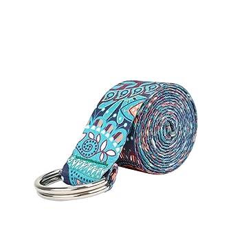 LINANNAV Cinturón de Yoga Cinturón elástico Tirón de la ...