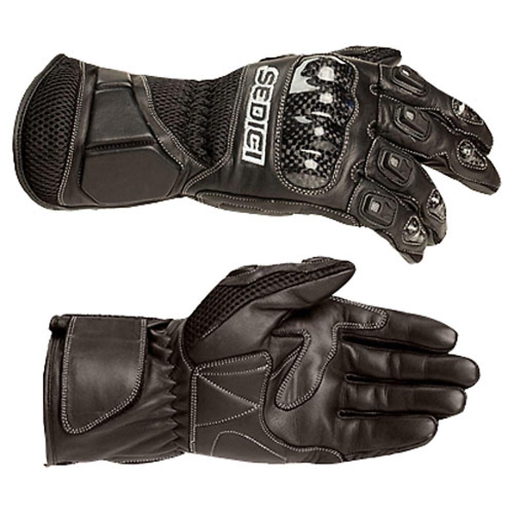 Diavolo leather motorcycle gloves - Amazon Com Sedici Torino Leather Mesh Motorcycle Gloves Lg Black Automotive