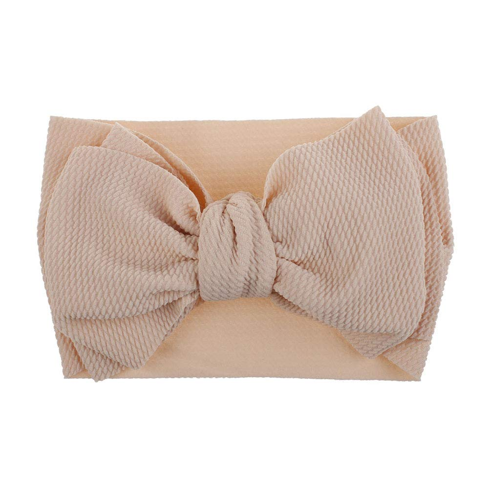 YOUNICER Baby Headbands Turban Knotted Girls Hairbands for Newborn Toddler and Childrens Bows Baby Headbands