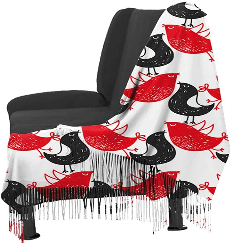 Art Elements Abstract Neck Scarf Big Head Scarves