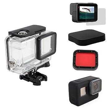 Kit de accesorios 5 en 1 Kingwon para cámara GoPro Hero 5 ...
