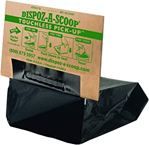 HealthPro Dispoz-A-Scoop – No Touch, Sanitary Dog Poop Scoopers