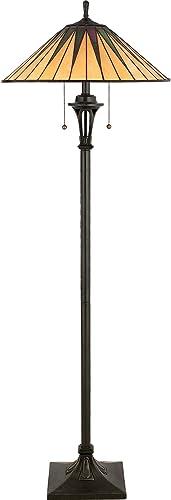 Quoizel TF9397VB Gotham Tiffany Floor Lamp