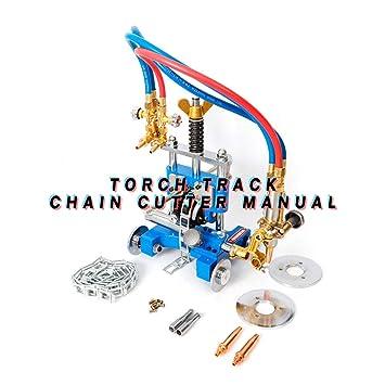 Manual Pipe Cutting Beveling Machine Torch Track Cutter a