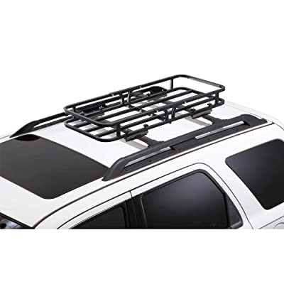 CargoLoc 2-in-1 Hitch Mount and Roof Top Cargo Carrier, 48 x 19.5: Home Improvement