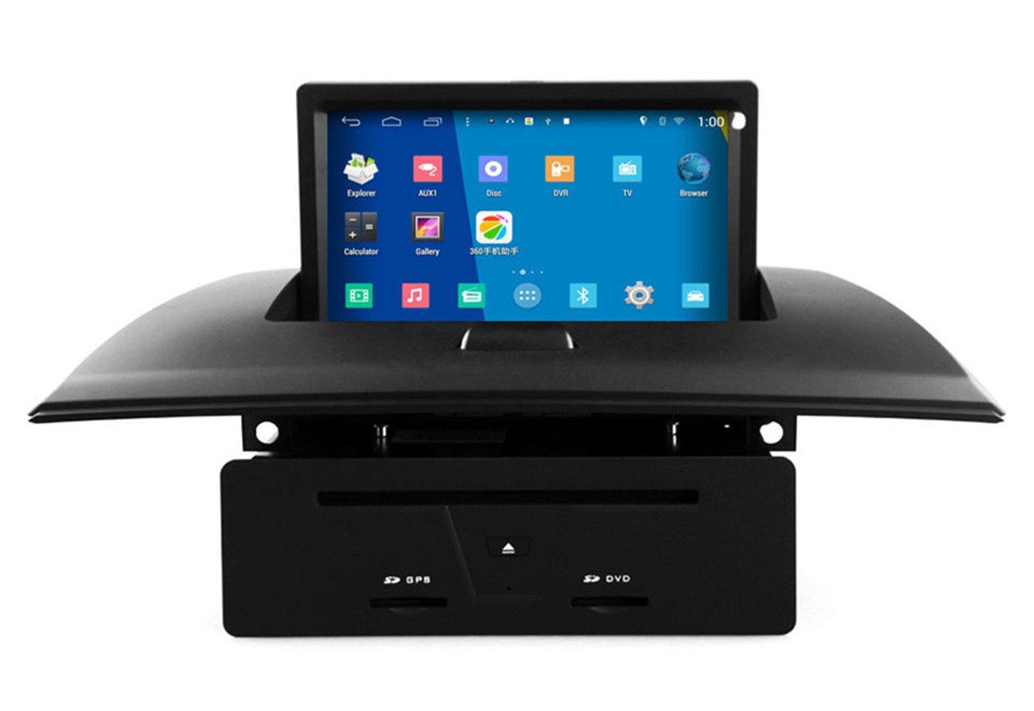 roverone Android Sistema 7 Inch En Dash Autoradio GPS para BMW X3 E83 2004 - 2012 con sistema de navegación estéreo DVD Bluetooth SD USB pantalla táctil: ...